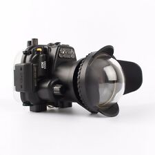 Canon 550D T2i 40M Waterproof Camera Housing Case, Wide Angle Dome Port lens