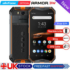 Ulefone armor 3W IP68 Rugged Smartphone Android 9.0 Helio P70 6+64GB Face ID NFC