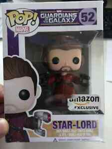 FUNKO POP STAR-LORD 52 GUARDIANS OF THE GALAXY MARVEL - Amazon Exclusive