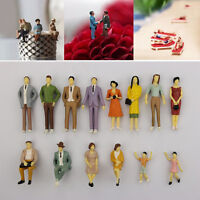 1PCS Scale 1:87 Painted Model People Figure / Seated Passenger Baby Kids DECO