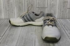 Adidas 360 Traxion Boa Golf Shoe - Men's Size 10 - White/Grey