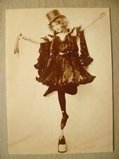 1980 Printed Postcard- Champagne Dancer 1904 Library of Congress