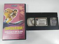 Great Ball de Fire! Dennis Quaid Lee Lewis VHS Tape Collectors Spanish