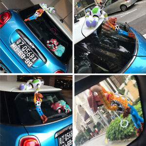 Best Toy Story Sheriff Woody helps hooded Buzz Outside Car Hanging Doll toy