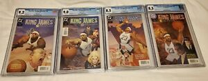 2004 DC COMICS KING JAMES FIRST COVER ISSUE LEBRON JAMES ROOKIE YEAR CGC GRADED