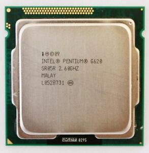 INTEL PENTIUM G620 2.6GHZ 3M PROCESSOR CPU LGA1155