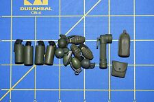 1:6 Military US Green Smoke Grenades Flashlight Pouches Toy (Lot of 15) C-172