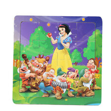 1 PCS Wooden Snow White Jigsaw Puzzles Toys for Boys & Girls Ages 3+ (SN-1-W)