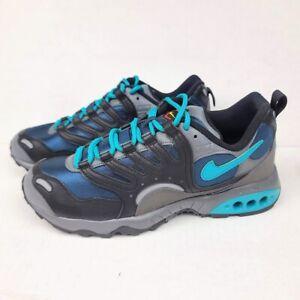 Nike Air Terra Humara Men's US 10 Grey Teal Trail Shoes AO1545-004