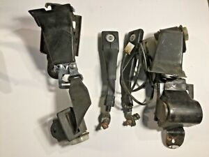 Left & Right Seatbelt Assemblies off a 1977 Nissan 280Z —MV—