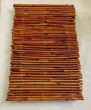 Bamboo Placemats SET OF 4 real place mats whole tiki party vintage Beach decor
