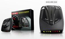 SHO-ME 520 AVISADOR de Radares RADAR/LASER DETECTOR 360 Grados Total Proteccion