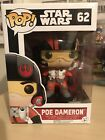 Funko POP! Vinyl Star Wars Episode VII 7 Poe Dameron Bobble Head #62 New