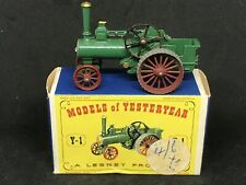 *HTF Matchbox Yesteryear Y1-1 Is.18 (Silver Boiler Door) Alchin Traction Engine