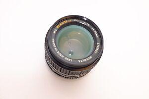 Minolta Rokkor PG 50mm f/1.4 Lens