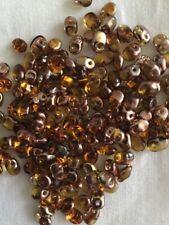 Superuno Beads X100 Topaz Capri Gold