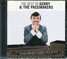 THE BEST OF GERRY & THE PACEMAKERS CD - FERRY ACROSS THE MERSEY & MORE