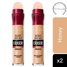 2 Pack Maybelline Instant Age Rewind Anti Age Eraser Eye Concealer, 04 Honey