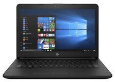 "NEW HP 14-bw022na 14"" Laptop AMD A4-9120 4GB RAM 1TB HDD Windows 10 WiFi - Black"