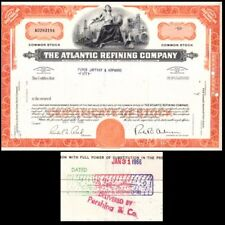 Broker Owned Stock Certificate: Piper Jaffray et al, payee; Atlan Refin, issuer