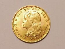 L6857   NIEDERLANDE  10,- Gulden 1897 GOLD !!!