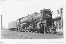 9F550 RP 1940/60s AT&SF SANTA FE RAILROAD 4-8-4  LOCOMOTIVE #3753 DENVER CO
