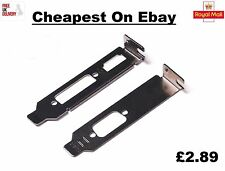 Low Profile Bracket Kit HDMI & DVI & VGA for Half Height Graphics Video Cards