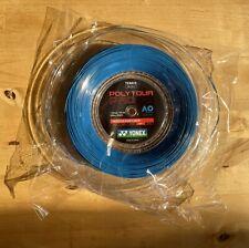 Yonex Poly Tour Pro 16L Reel (1.25mm Tennis String) Blue. Full 200m / 656ft. New