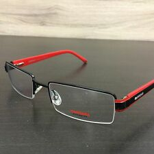 Carrera CA 7532 Eyeglasses Frames Black Red T0Y Authentic 52mm