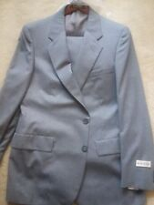 Mens D'Avenza GRAY wool Suit New With Tags 42L