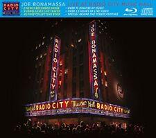Joe Bonamassa-Live at Radio City Music Hall Blu-ray + CD NEW