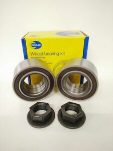 FOR FORD MONDEO MK3 00-09 TDDI TDCI 2 X FRONT WHEEL BEARING W/ ABS PAIR 00-07
