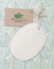 Loofah Dish Scourer Kitchen Bathroom Eco Friendly Zero-Plastic Cleaning Sponge O