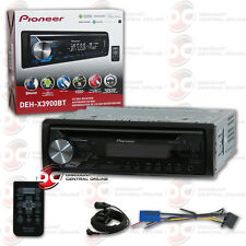 NEW PIONEER DEH-X3900BT 1-DIN CAR MP3 CD STEREO W/ USB AUX BLUETOOTH & PANDORA