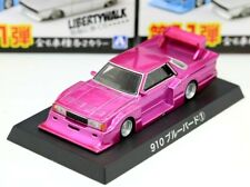 Aoshima 1/64 Grachan 11 Nissan LBWK BlueBird KY910 1983 Metallic Purple