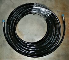 """Swagelok Thermoplastic Hose, SS-7R6PM6PM6-1200, 3/8"""", SS Male Fittings, 100 Ft"""