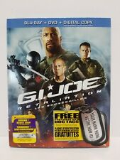 G.I. Joe - Retaliation: Blu-ray / DVD / Digital Copy: Canadian - Brand New
