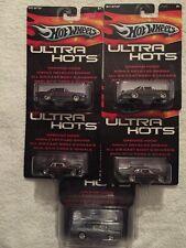 HotWheels Ultra Hots Set Of 5 Rare Finds