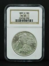 1899-O $1 Morgan Silver Dollar - NGC MS65