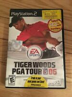 EA SPORTS TIGER WOODS PGA TOUR 06 - PS2 - COMPLETE W/MANUAL - FREE S/H - (BB)