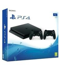 Sony PlayStation 4 Slim 1TB + 2 DualShock 4 Consola - Negra