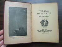 Vtg 1915 Call Of The Wild by Jack London MacMillan & Company Illustrated