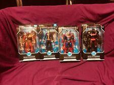 DC Multiverse Series figure Azrael, Joker, Superman, Hell Bat Batman lot of 4