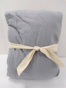 Pottery Barn Teen Essential Jersey Sheet Set Full Steel Gray #8074