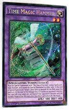 DRL2-EN009 x1 TIME MAGIC HAMMER (MARTELLO MAGICO DEL TEMPO) Secret Rare