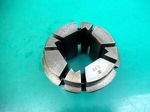 """ENGINEERS CRAWFORD MULTIBORE COLLET T285 E99   1-5/8""""- 1-3/4"""" SQUARE"""
