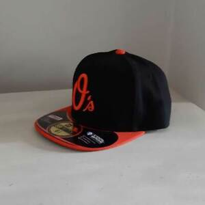 Baltimore Orioles KIDS MLB 59FIFTY Fitted Baseball Cap - size 6 3/8