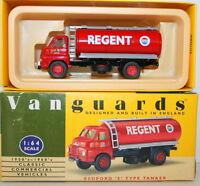 VANGUARDS 1/64 VA7000 BEDFORD S TYPE TANKER REGENT