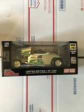 1998 HOT ROD '33 FORD HIGHBOY ROADSTER Gold 50th Racing Champions 1:24 1/2500