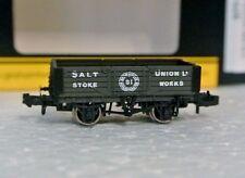 Graham Farish 377-059 N Scale 5 Plank Wagon Salt Union C-9 New In Box